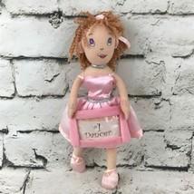 Revolution Dancewear #1 Dancer Plush Ballerina Doll Picture Holder Soft Toy - $7.91