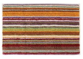Missoni Home Jazel Striped Bath Rug, 159 Orange - £261.78 GBP