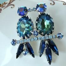 Vintage  Juliana  Lovebirds  Brooch - $56.43