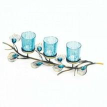 Gallery of Light Peacock Inspired Candle Trio - $29.88