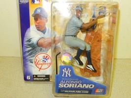 Mcfarlane Deporte Acción MLB - Nueva York Yankees- Alfonso Soriano- - Nuevo- - $7.31