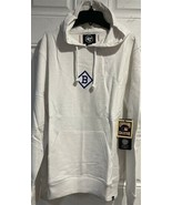 MLB Los Angeles Dodgers Hoodie White Retro Large Mens Team Logo LA New Brooklyn - $79.15