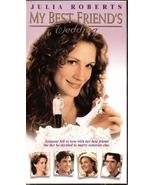My Best Friend's Wedding VHS Julia Roberts Dermot Mulroney Cameron Diaz - $1.99
