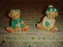 Cherished Teddies Kathleen And Sean Luck Found Me A Friend In You - $15.99