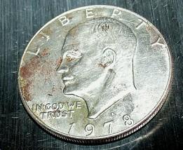 Eisenhower 1978 D Silver Dollar AA20D-CN6068