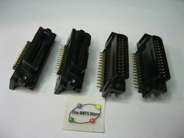 Assorted AMP PCB Connector DB-25-M and Centronics 24-Pin Right - Qty 4 (2 each)  - $5.69