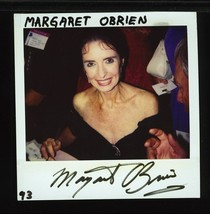MARGARET O'BRIEN POLAROID PHOTOGRAPH SIGNED VERY RARE - $24.95