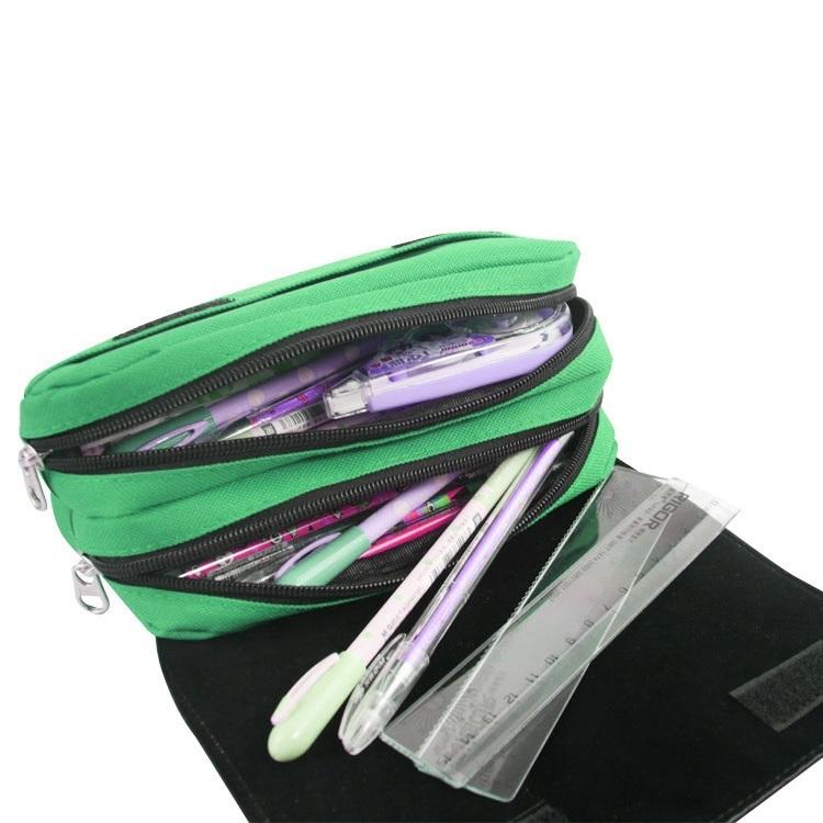 Super Mario Pencil Case Pen Bag Kid School Red