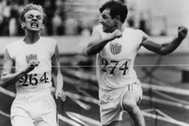 Ben Cross and Ian Charleson in Chariots of Fire Classic Finish line Scene 24x18  - $23.99