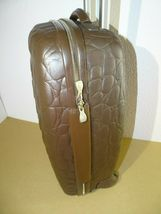 Samsonite Alexander McQueen Black Label Carry-On Suitcase Luggage Crocodile image 5