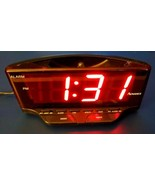 Vintage Advance 4081 Digital Alarm Clock w/Snooze and Battery Backup Nig... - $14.84