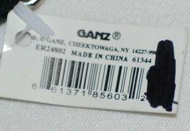 GANZ Brand ER24802 Multi Color Chevron Pattern Coin Purse Teal Flower image 4