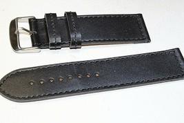Italian leather watch band 24mm Classic Calf Fits Panerai - $21.04