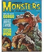 Warren Famous Monsters Of Filmland #11 Gorgo Jekyll & Hyde Edgar Allan Poe - $199.95