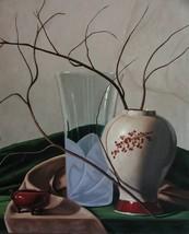 """Still Life Painting by Award-winning Artist: Grant Johnson. """"Winter Comp... - $2,500.00"""