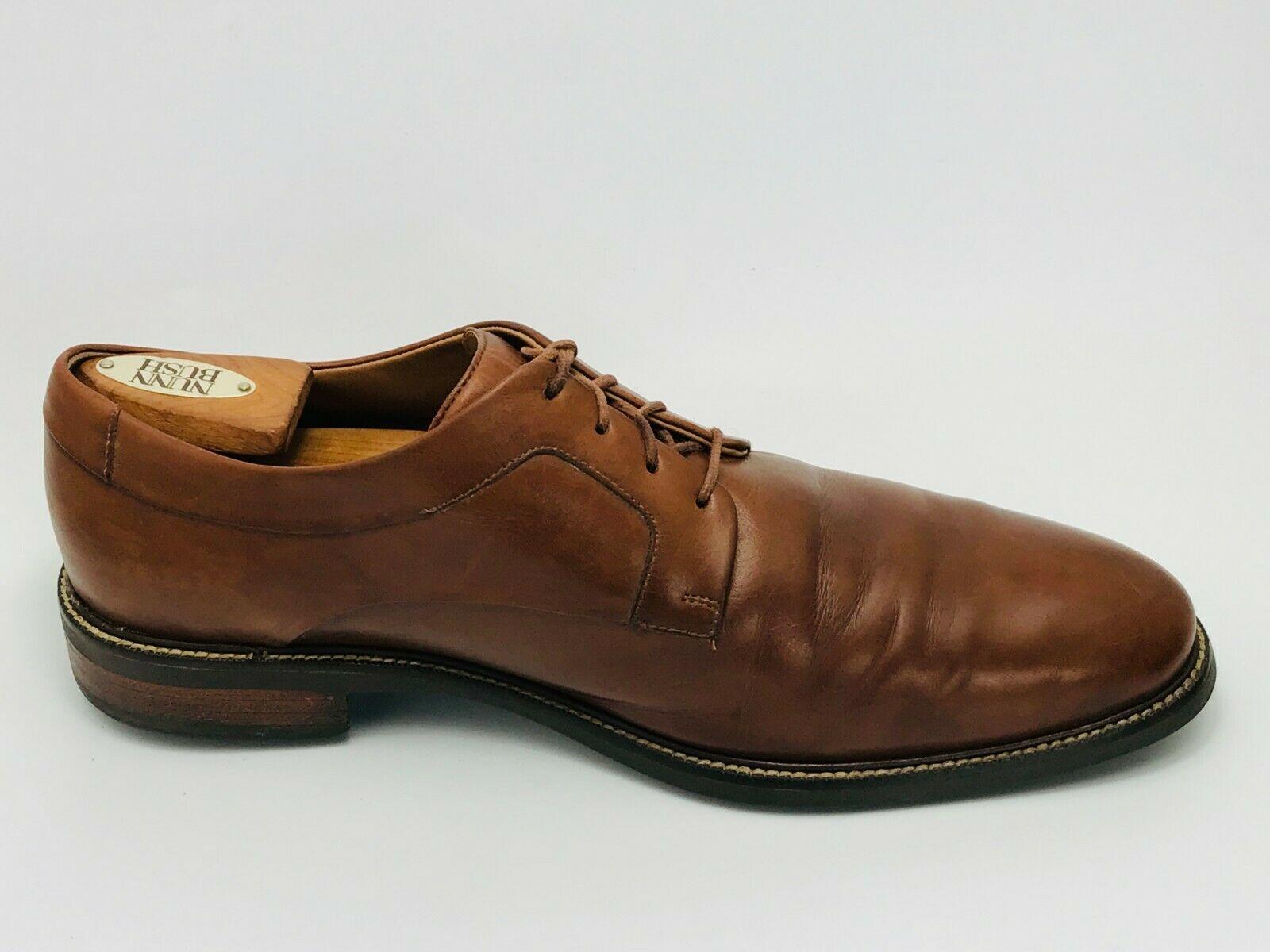 Cole Haan Men's Warren Cap Toe Oxford Brown Leather Size 10.5W