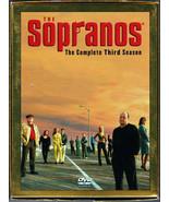 The Sopranos: The Complete Third Season 3 DVD (Bilingual) - BRAND NEW & ... - $39.55