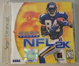 N) NFL 2K (Sega Dreamcast, 1999) Football Video Game - $3.95