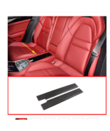 2 Pcs Rear Center Storage Box Cover Carbon Fiber For Porsche Panamera 20... - $155.38