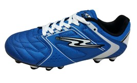 Arza Furios  Firm Ground Soccer Shoes  Royal Blue/White For Boy(Youth Si... - $29.99