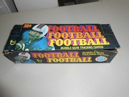 1976 Topps Football Card Empty Retail Box - $64.35
