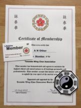 Teesside Wing Chun Kung Fu KARATE JUDO AIKIDO MMA JKD Member Pack