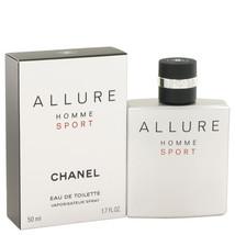 Chanel Allure Homme Sport Cologne 1.7 Oz Eau De Toilette Spray  image 3
