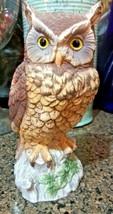 Andrea by Sadek OWL Figurine 9339 - Porcelain  - £15.24 GBP