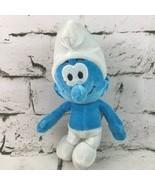 The Smurfs Plush Classic Retro Cartoon Stuffed Animal Soft Toy Doll Peyo... - $9.89