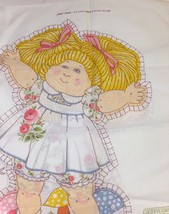 Melco Textile Corp Cabbage Patch Kids Open Arms Doll Fabric Panel - $11.30