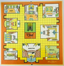 Clue Board Game No Box Mostly Complete Parker Brothers Vintage 1960 USA for Part - $14.50