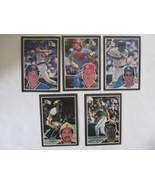 5 1985 Donruss Large Baseball Cards. - $5.89