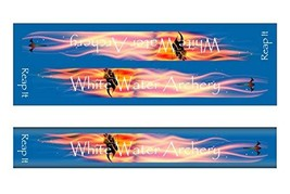 An item in the Sporting Goods category: White Water Archery WWA Grim Reaper Reap It Flames Blue Solid Color Stabilizer W