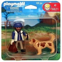 Playmobil City Vet & Puppy 7 pc Set #5821 - $12.99