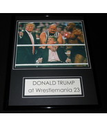 Donald Trump at Wrestlemania 23 Framed 11x14 Photo Display - $32.36