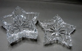"Crystal Star Shaped 4  "" Lidded Trinket Box - $5.99"