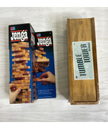 Lot of 2 NIB Jenja and Tumble Tower Game Set Beach Party Outdoors Indoor... - $14.03