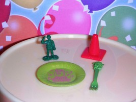 Disney Pixar Toy Story Army Man Cone Fork Plate fits Loving Family Dollh... - $2.99