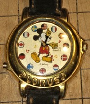LORUS Mickey Mouse Watch needs battery but checked works - $44.99