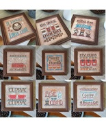 FULL BUNDLE Cool Beans Series (9 charts total) cross stitch Hands On Des... - $45.90