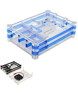 Blue/Black 5 Layers ABS Enclosure Case For Raspberry Pi 3 Model B - $9.51