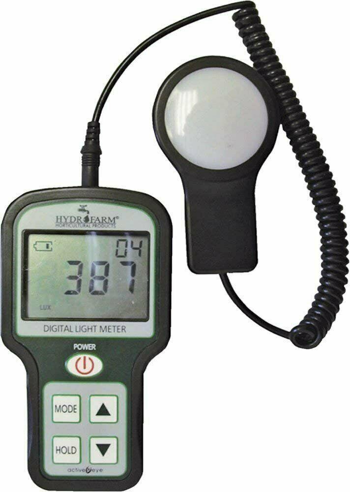 Hydrofarm Quantum Digital Light Meter, Black (LUX meter) - $59.32