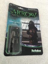 Funko ReAction Arrow Dark Archer Unmasked Game Stop Exclusive Figure Loo... - $7.99