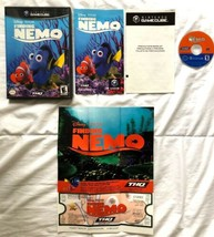 ☆ Finding Nemo (Nintendo GameCube 2004) COMPLETE in Case Game W/ POSTER ... - $10.50