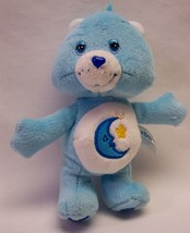 "Care Bears LIGHT BLUE BEDTIME BEAR 7"" Plush STUFFED ANIMAL Toy - $14.85"