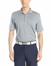 NEW NWT adidas Golf Men's Adi Performance Polo, Mid Grey, Large Climalit... - $27.81