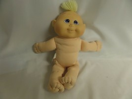 KUDDLE LOVE KIDS BLOND HAIR BLUE EYES NO CLOTHES - $18.50