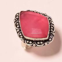 "Excellent Cat's Eye Gemstone Fashion Ethnic Jewelry Ring S-6.75"" UK-164 - $3.66"