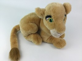 "Disney Store The Lion King Laying Young Nala Lioness 14"" Plush Stuffed Toy image 2"