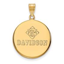 10ky LogoArt Davidson College Large Disc Pendant - $477.00